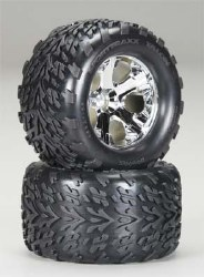 Tires & Wheels Assembled Glued 2.8