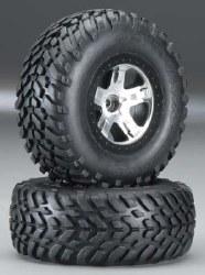 Tire/Wheel Assembled Black Beadlock Front