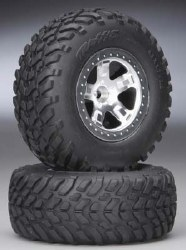 Tires/Wheels Assembled Fr Slash