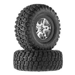 Tire/Wheel Assembled Black Beadlock Front & Rear