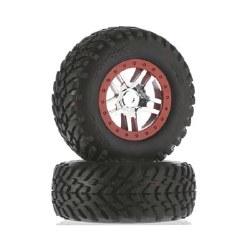 Tire/Wheel Assembled Glued SCT Split-Spoke Chrome