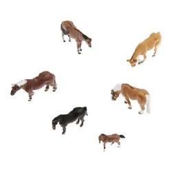 Farm Horses N Scale