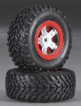 Tires/Wheels Assembled Glued R&L