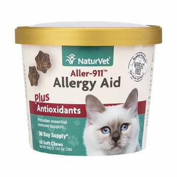 Aller-911 Allergy Aid Cat Soft Chews 60ct