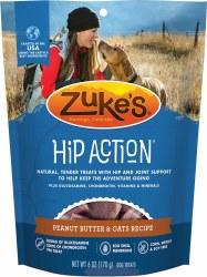 Hip Action Peanut Butter & Oats Dog Treat 6oz