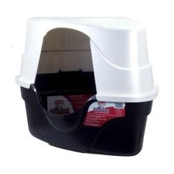 Advanced Hooded Corner Litter Box