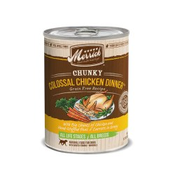 Chunky Colossal Chicken Dinner Grain Free Canned Dog Food 12.7oz