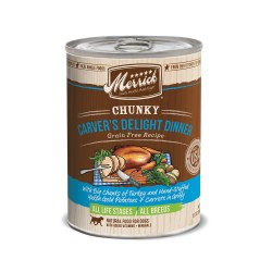 Chunky Carver's Delight Grain Free Canned Dog Food 12.7 oz