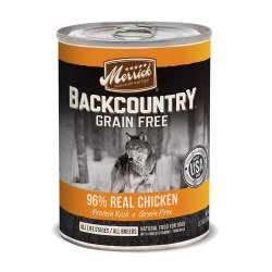Backcountry Grain Free 96% Real Chicken Recipe Canned Dog Food 12.7oz