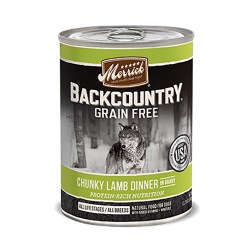 Backcountry Chunky Lamb Dinner Canned Dog Food 12.7oz