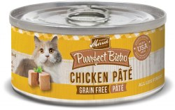Purrfect Bistro Grain Free Chicken Pate Canned Cat Food 3oz