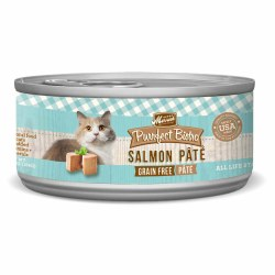Purrfect Bistro Grain Free Salmon Pate Canned Cat Food 5.5oz