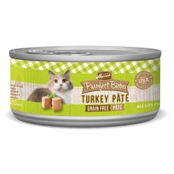 Purrfect Bistro Grain Free Turkey Pate Canned Cat Food 5.5oz