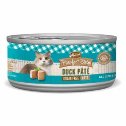 Purrfect Bistro Grain Free Duck Pate Canned Cat Food 5.5oz