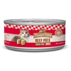 Purrfect Bistro Grain Free Beef Pate Canned Cat Food 5.5oz