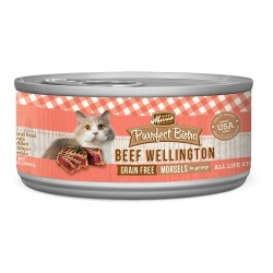 Purrfect Bistro Grain Free Morsels Beef Wellington Canned Cat Food 5.5oz