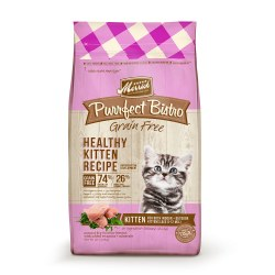 Purrfect Bistro Grain Free Healthy Kitten Recipe Dry Cat Food 4lb