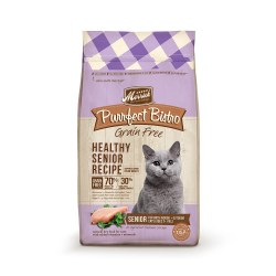 Purrfect Bistro Grain Free Healthy Senior Recipe Dry Cat Food 7lb