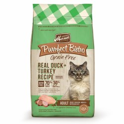 Purrfect Bistro Grain Free Real Duck & Turkey Recipe Dry Cat Food 4lb