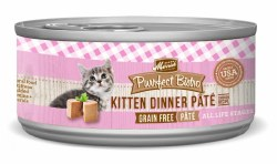 Purrfect Bistro Grain Free Kitten Dinner Pate Canned Cat Food 5.5oz