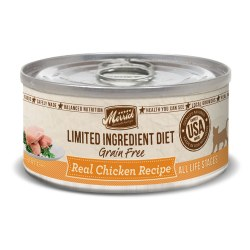 Limited Ingredient Diet Grain Free Real Chicken Canned Cat Food 5oz