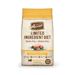 Limited Ingredient Diet Grain Free Real Chicken Recipe Dry Cat Food 4lb