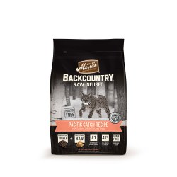 Backcountry Raw Infused Pacific Catch Recipe Dry Cat Food 3lb
