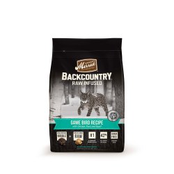 Backcountry Raw Infused Game Bird Recipe Dry Cat Food 6lb