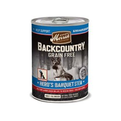 Backcountry Grain Free Hero's Banquet Stew Canned Dog Food 12.7oz