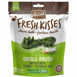 Fresh Kisses Coconut Oil Dental Dog Treat X-Small 20ct