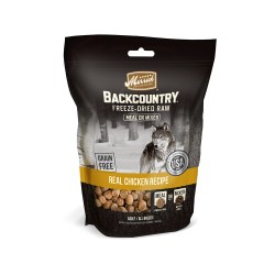 Backcountry Real Chicken Recipe Freeze Dried Raw Dog Meal Mixer 5.5oz