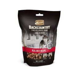 Backcountry Real Beef Recipe Freeze Dried Raw Dog Meal Mixer 5.5oz