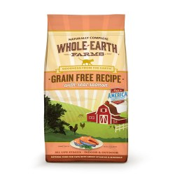 Grain Free Real Salmon Recipe Dry Cat Food 5lb
