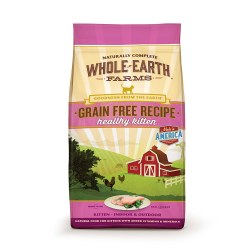 Grain Free Healthy Kitten Recipe Dry Cat Food 10lb