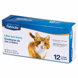 Litter Pan Liners Large 12ct