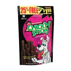 Chick N' Sticks Dog Treats 7.2oz
