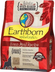 Bison Meal Recipe Grain Free Dog Treats 14oz