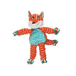 Floppy Knots Fox Dog Toy Small