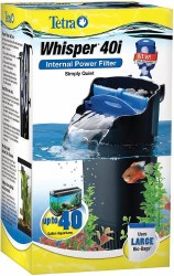 Whisper Internal Power Aqarium Filter 40gal