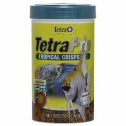 TetraPro Tropical Crisps Fish Food 2.37oz