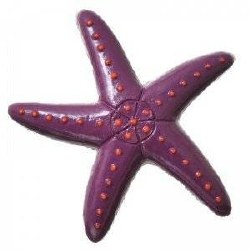 GloFish Starfish Ornament
