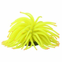 GloFish Anemone Ornament Yellow