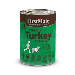 Limited Ingredient Free Run Turkey Formula Canned Dog Food 12.2oz