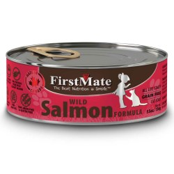 Limited Ingredient Wild Salmon Formula Canned Cat Food 5.5oz