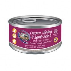 Chicken, Turkey & Lamb Formula Canned Cat Food 5oz