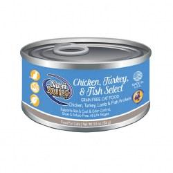 Chicken, Turkey, Lamb & Fish Kitten Formula Canned Cat Food 5oz