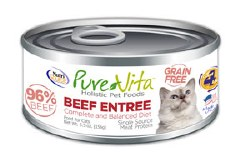 Grain Free Beef Entrée Canned Cat Food 5.5oz