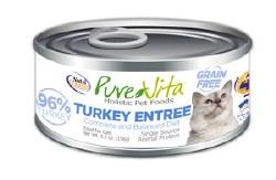 Grain Free Turkey Entrée Canned Cat Food 5.5oz