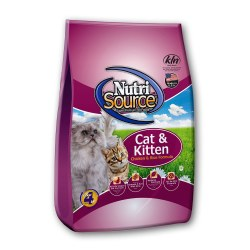 Cat & Kitten Chicken & Rice Formula Dry Cat Food 6.6lb