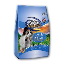Cat & Kitten Chicken Meal, Salmon & Liver Dry Cat Food 6.6lb